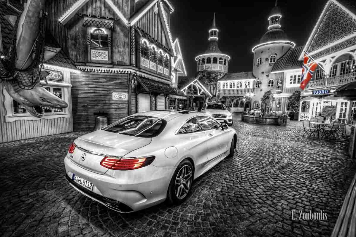 Loki's Song – Der Mercedes-Benz S500 Coupé und der GLE begegnen sich in Norwegen
