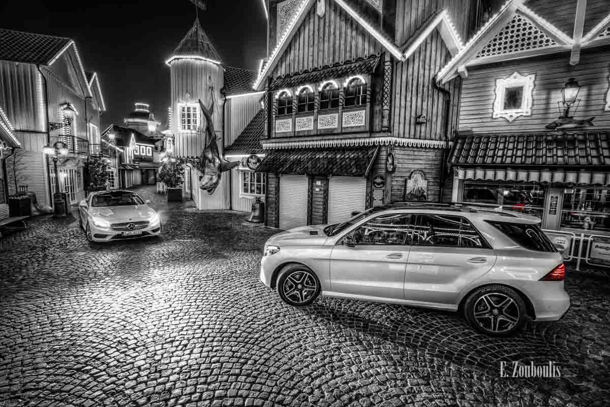 Njörd's Court – Der Mercedes-Benz S500 Coupé und der GLE begegnen sich in Norwegen