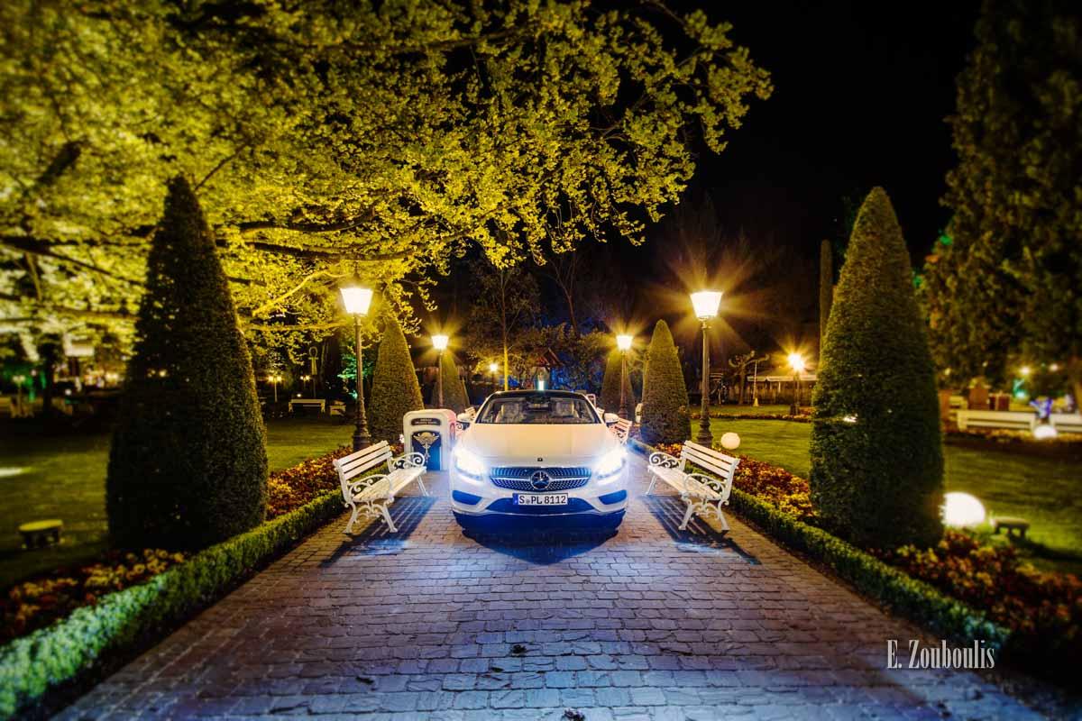 Der S500 Coupé im Europa Park