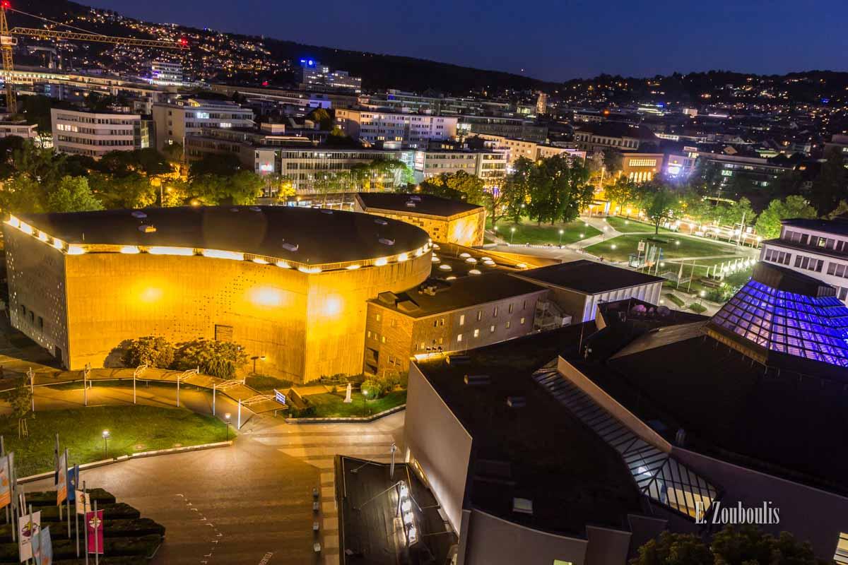 Timelapse Aufnahmen in Stuttgart an der Liederhalle