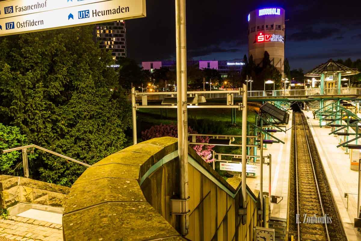 Timelapse Aufnahmen in Stuttgart am Pragsattel