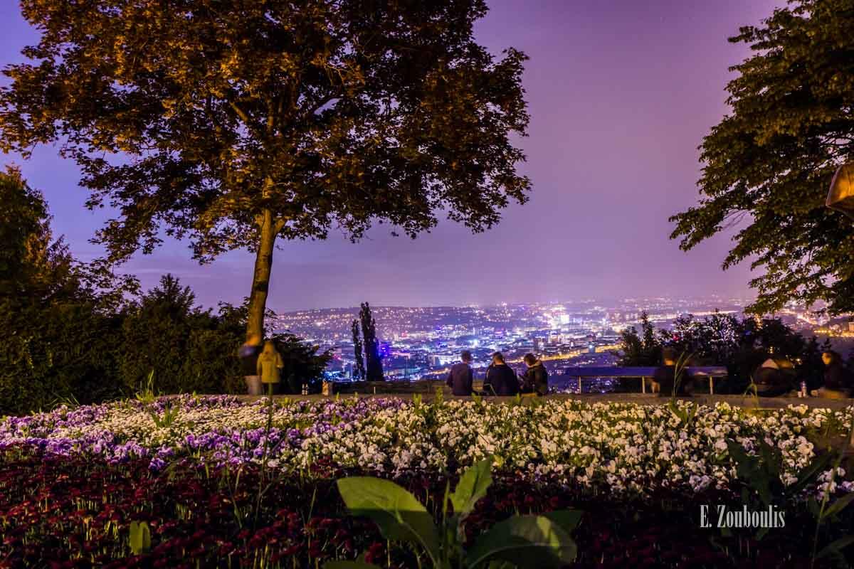 Timelapse Aufnahmen in Stuttgart am Santiago de Chile Platz