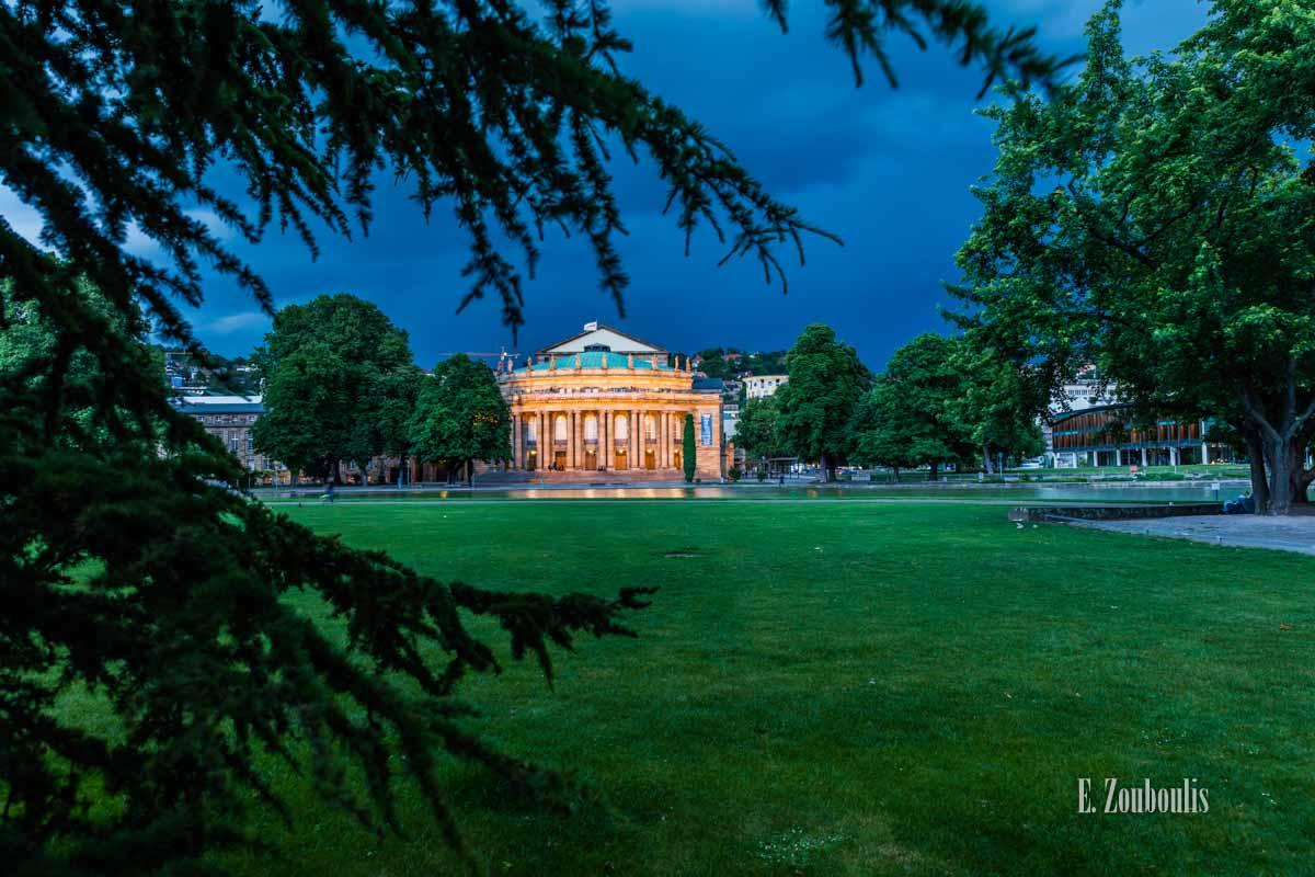 Timelapse Aufnahmen in Stuttgart an der Staatsoper