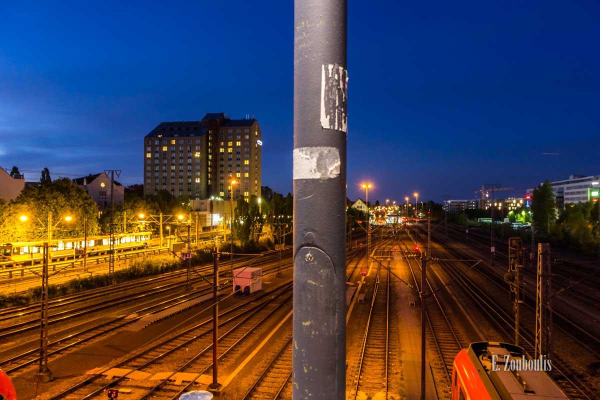 Timelapse Aufnahmen in Stuttgart am Bahnhof Vaihingen